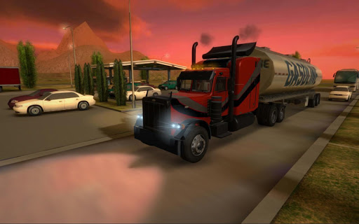 Truck Simulator 3D 2.1 screenshots 1