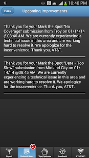 AT&T Mark the Spot - screenshot thumbnail