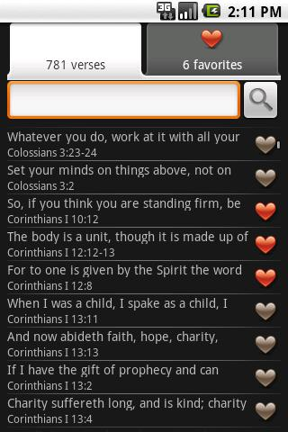 Bible Verses - screenshot