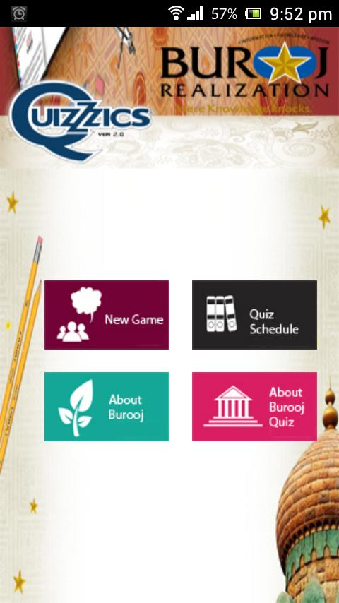 Burooj QuizZzics- Islamic Quiz - screenshot