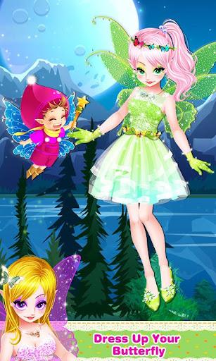 Butterfly Fairy Girls Dress Up