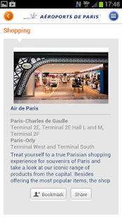 My Airport–Aeroports de Paris - screenshot thumbnail