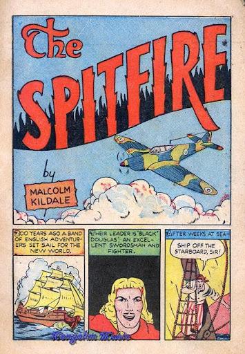 Spitfire Comics 1 John FMahon