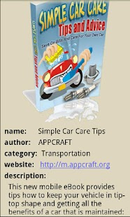 Simple Car Care - screenshot thumbnail