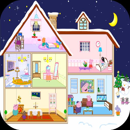 เกมส์ตกแต่งบ้าน มหาสนุก 家庭片 App LOGO-硬是要APP