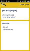 Screenshot of JET Stations