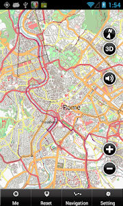 Rome Offline Map screenshot 1