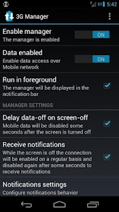 3G Manager - Battery saver v2.4.0