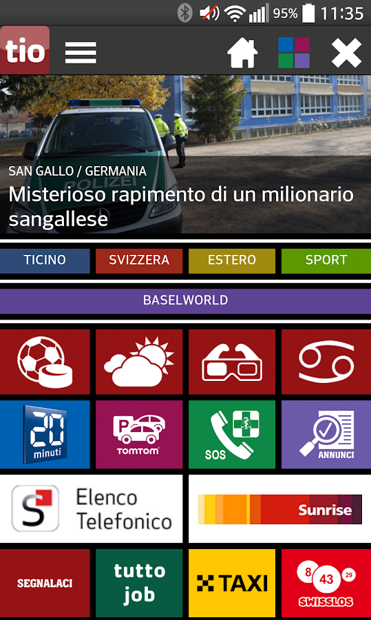 TioMobile - screenshot