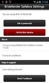 Bitdefender Safebox Screenshot 4