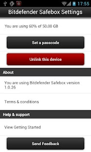 Bitdefender Safebox - screenshot thumbnail