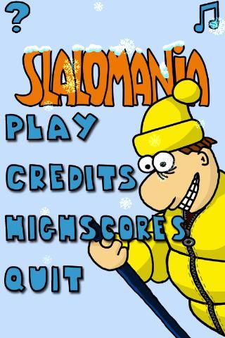 Slalomania- screenshot