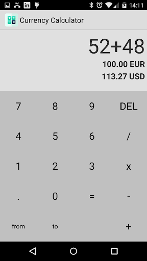 SuperCalc: Currency Calculator