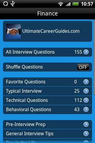 Finance Interview Guide- screenshot