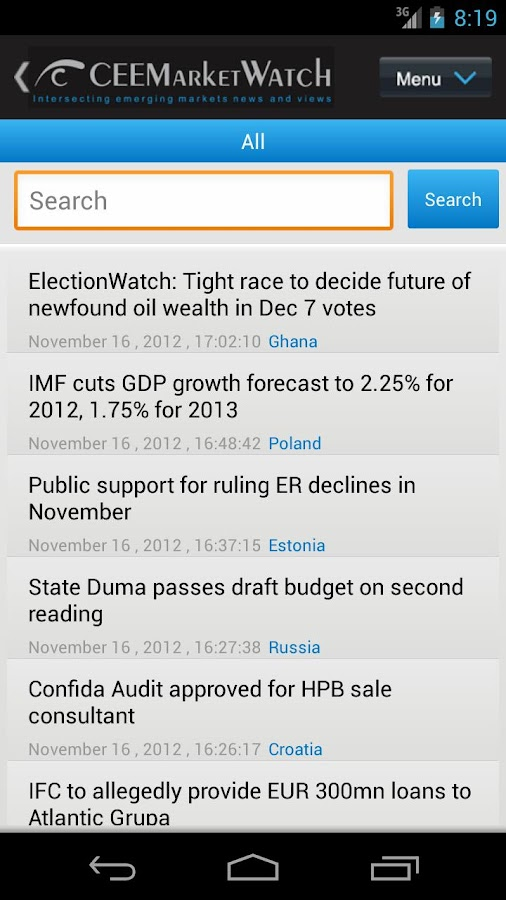 CEEMarketWatch- screenshot