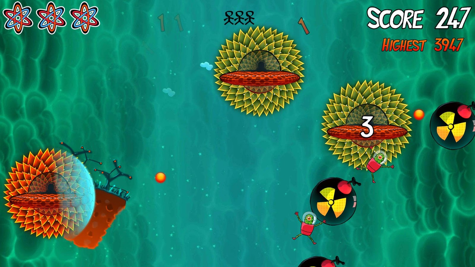 Cactus Crisis- screenshot