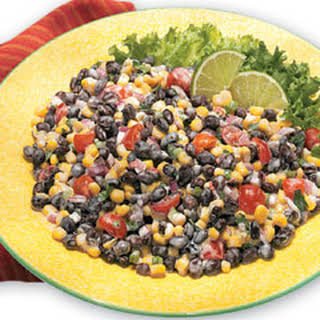 Corn And Black Bean Salad With Ranch Dressing Recipes.