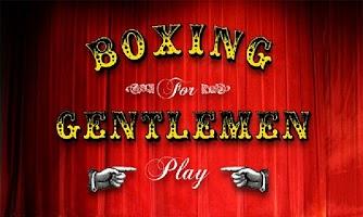 Screenshot of Boxing for Gentlemen
