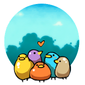 Cute Bird GO Launcher Theme