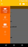Screenshot of Archos File Manager