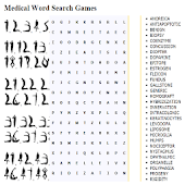 Medical Word Search Games
