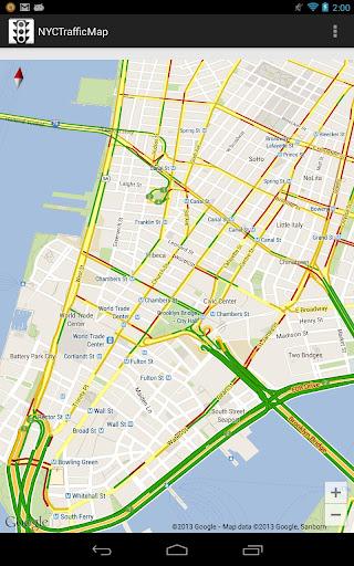 NYC Traffic Map