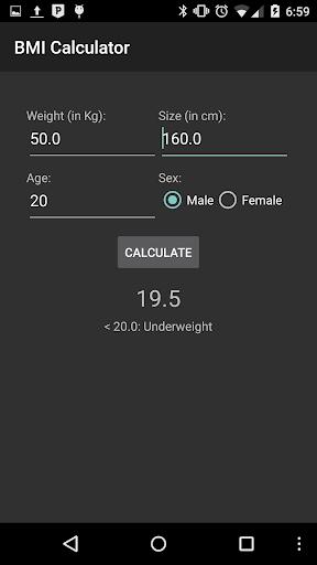 【免費生產應用App】BMI - Calculator-APP點子