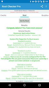 Root Checker Pro v1.5.2