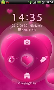 Hearts Theme for GO Locker- screenshot thumbnail