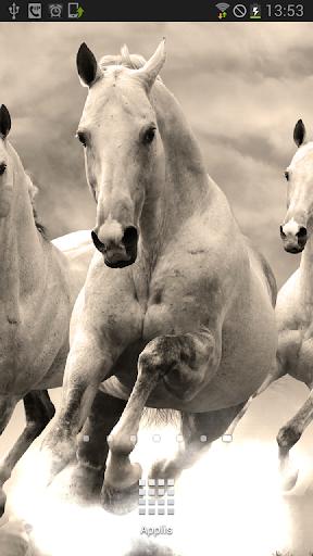White Horses Animated LWP