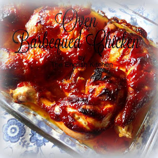 Oven Barbequed Chicken