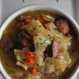 Cabbage and Sausage Stew