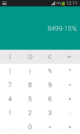Touch Solve Calculator Free