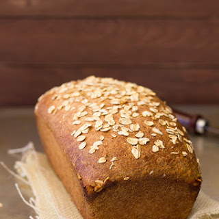 Oats and Honey Whole Wheat Bread