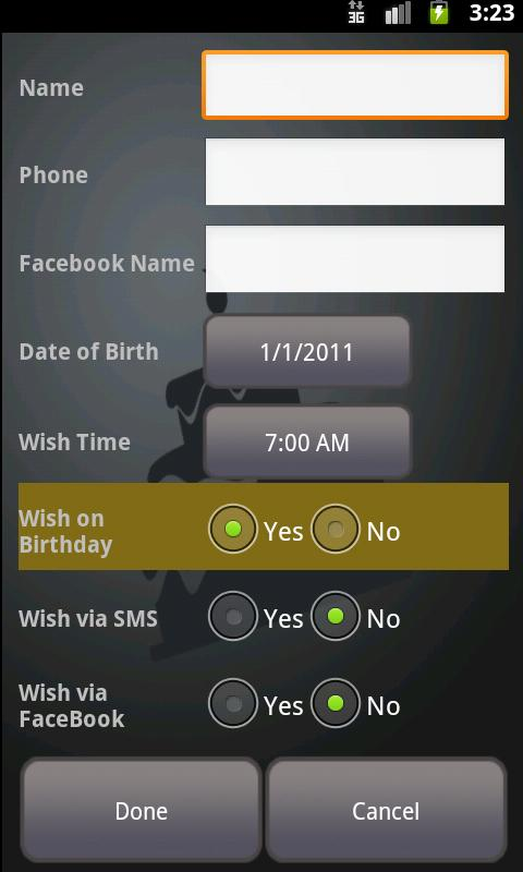 Birthday Wish - Free - screenshot