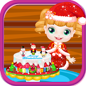Baby cake christmas games