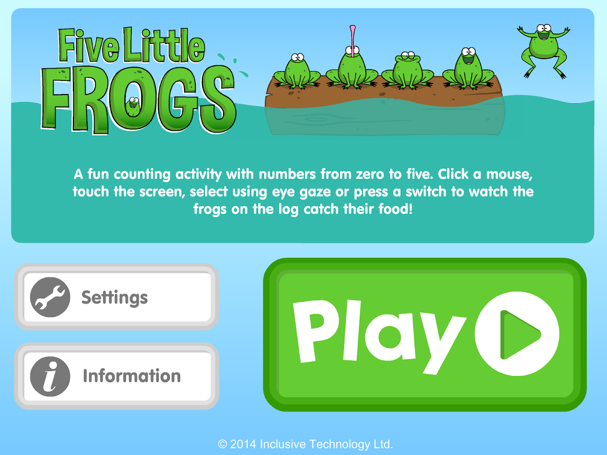 Five Little Frogs- screenshot