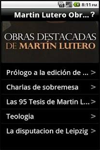 Martin Lutero Obras Destacadas: miniatura de captura de pantalla