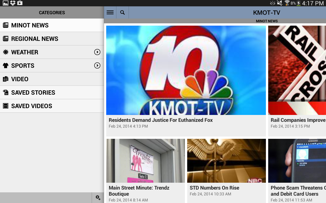 KMOT Mobile News - screenshot