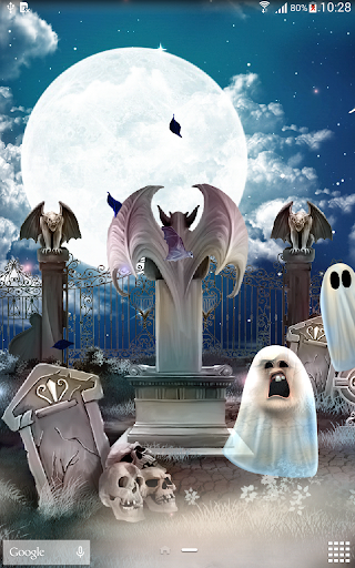 Download Halloween Live Wallpaper Android Apps APK