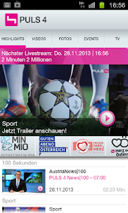 PULS 4 - screenshot thumbnail