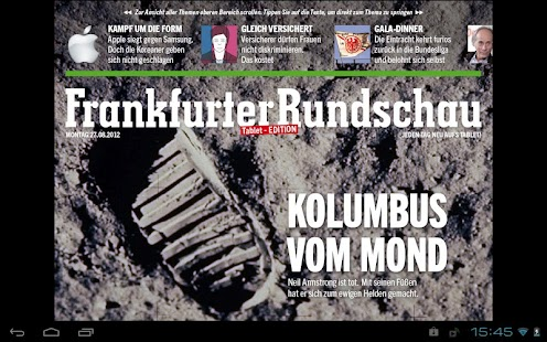 Frankfurter Rundschau HD - screenshot thumbnail