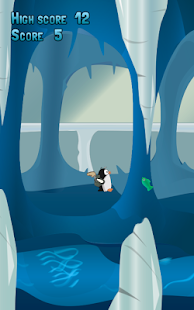 Flappy Pinguin screenshot