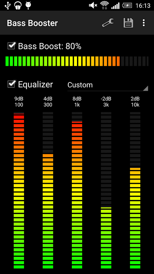 Screenshots of Bass Booster for iPhone