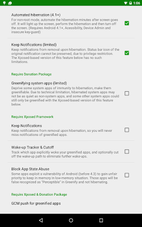 Greenify  2.6 Beta 9 Donate Patched APK