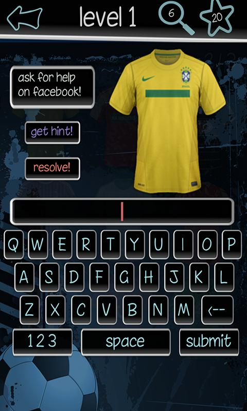 Football Kits Quiz - screenshot