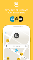 Screenshot of Hailo - The Taxi App