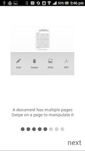 Handy Scanner Free PDF Creator- screenshot thumbnail