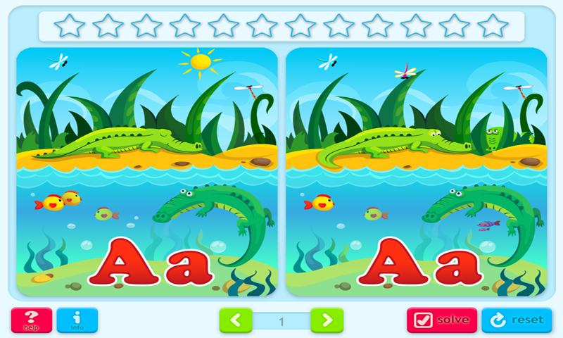 Find the Difference Game 3: ABCs- screenshot