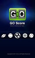 Screenshot of GO Score